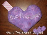 Boo Boo Lovey with Hand Warmers