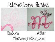 Butterfly Rhinestone Guide