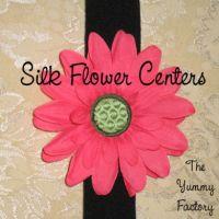 Silk Flower Centers